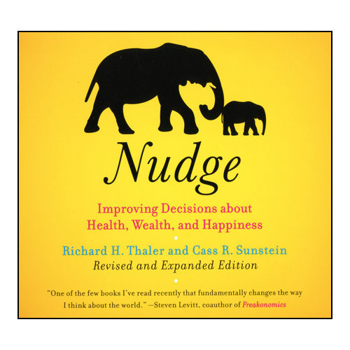 Printable Nudge (Revised Edition): Improving Decisions About Health, Wealth, and Happiness Audiobook Cover Art