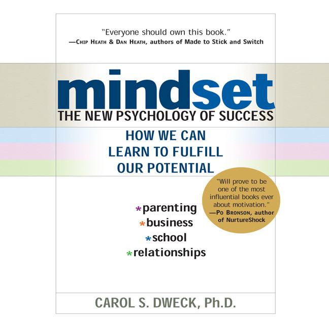 Printable Mindset: The New Psychology of Success Audiobook Cover Art