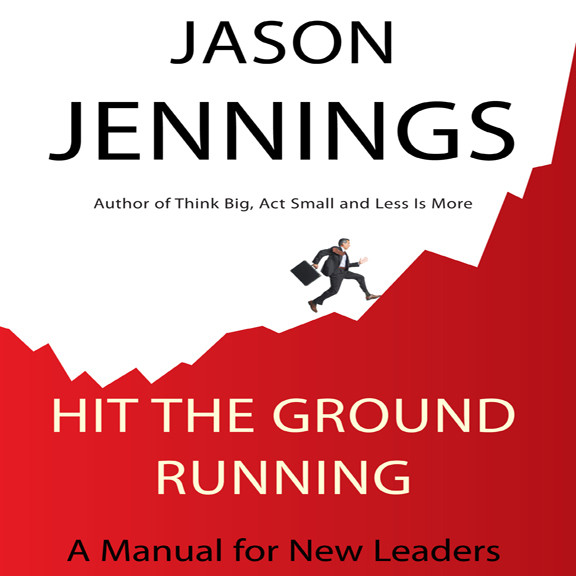 Printable Hit the Ground Running: A Manual for New Leaders Audiobook Cover Art