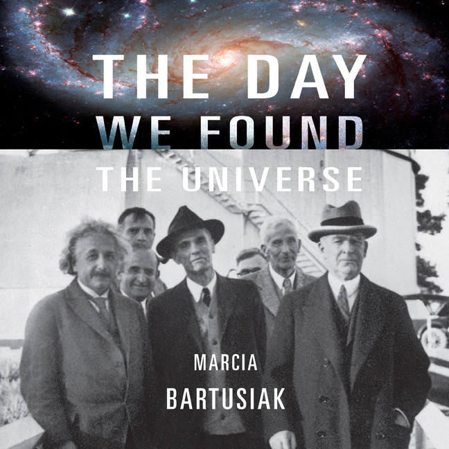 Printable The Day We Found the Universe Audiobook Cover Art