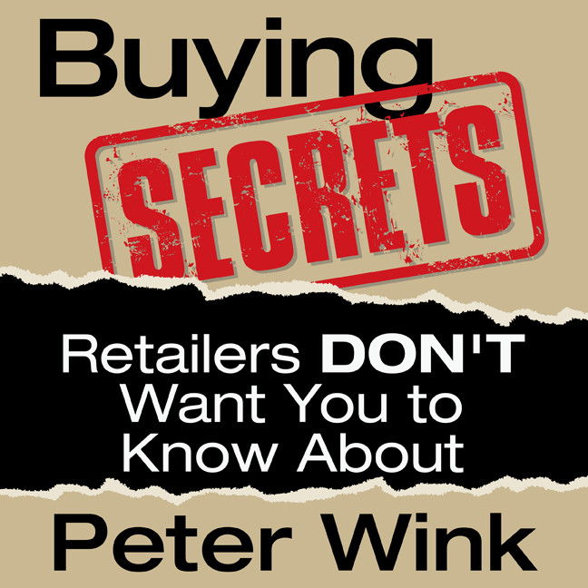 Printable Buying Secrets Retailers Don't Want You to Know Audiobook Cover Art