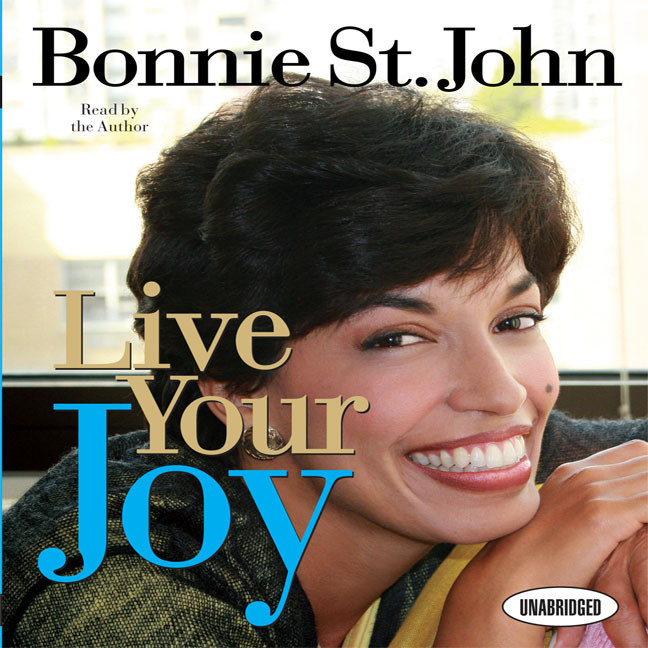 Printable Live Your Joy Audiobook Cover Art