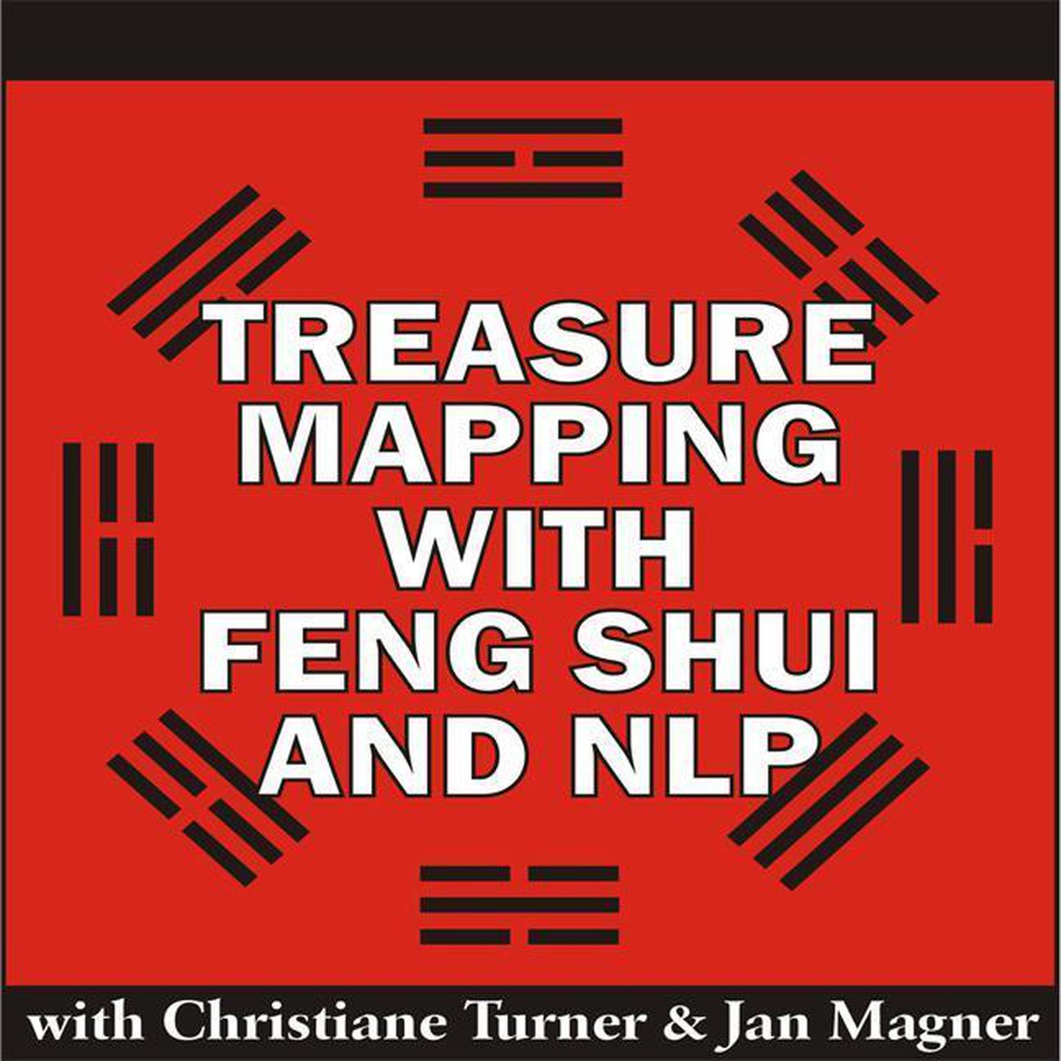 Printable Treasure Mapping with Feng Shui and NLP Audiobook Cover Art