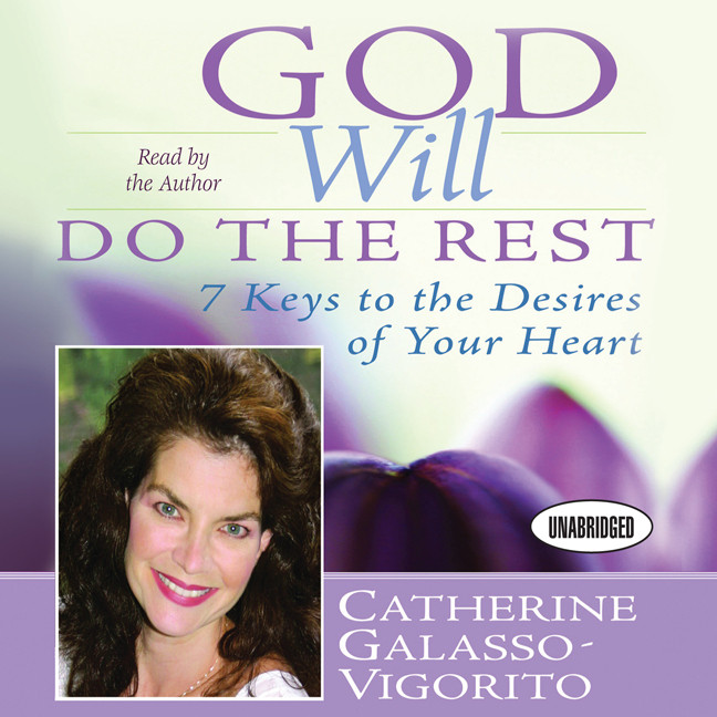 Printable God Will Do The Rest: 7 Keys to the Desires of Your Heart Audiobook Cover Art