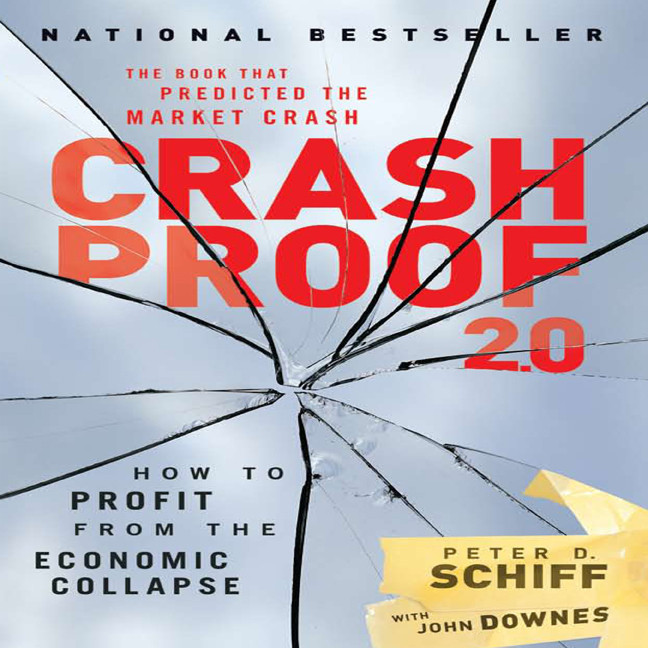 Printable Crash Proof 2.0: How to Profit from the Economic Collapse Audiobook Cover Art