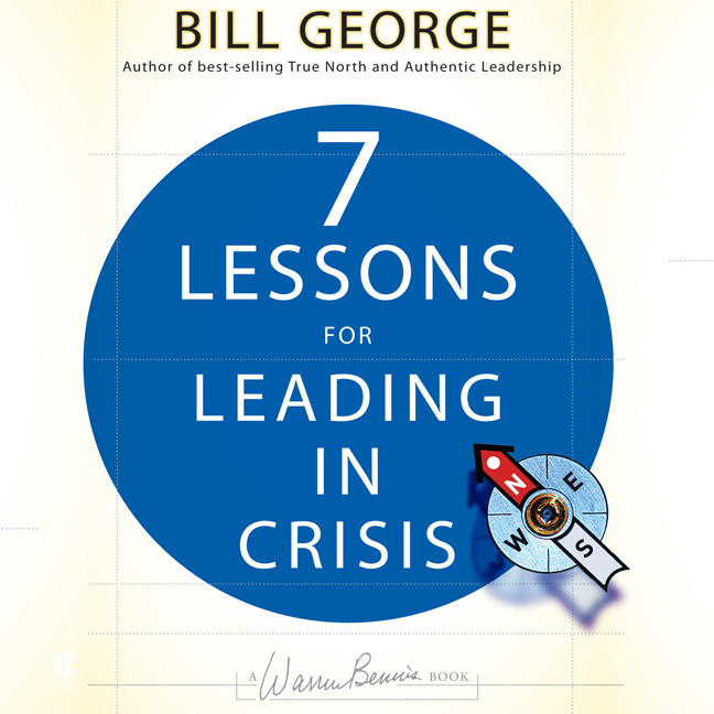 Printable Seven Lessons for Leading in Crisis Audiobook Cover Art
