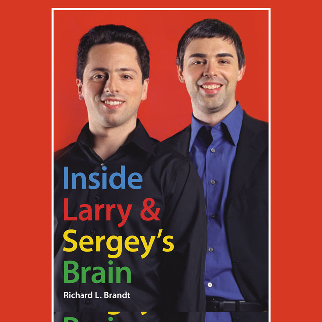 Printable Inside Larry's and Sergey's Brain Audiobook Cover Art