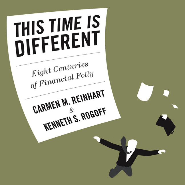 Printable This Time is Different: Eight Centuries of Financial Folly Audiobook Cover Art