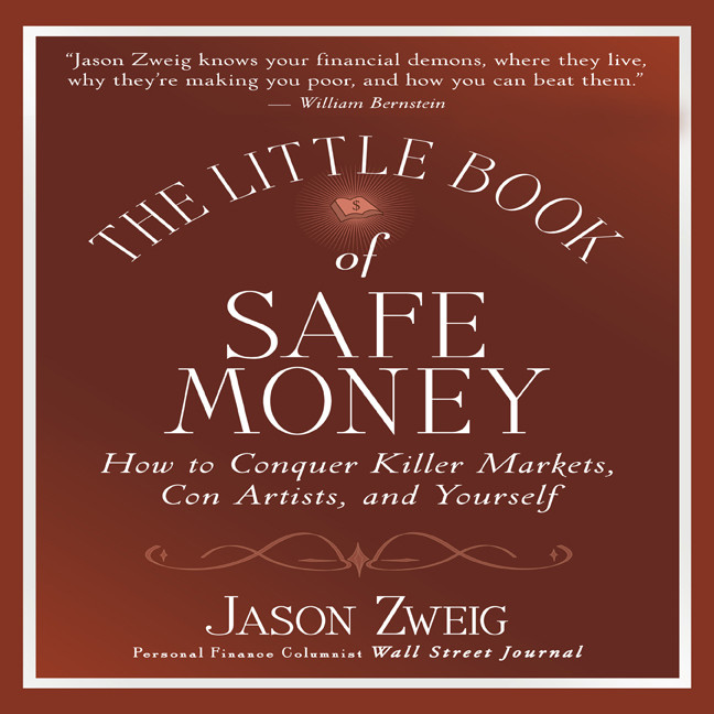 Printable The Little Book of Safe Money Audiobook Cover Art