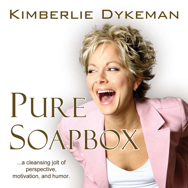 Printable Pure Soapbox: A Cleansing Jolt of Perspective, Motivation, and Humor Audiobook Cover Art