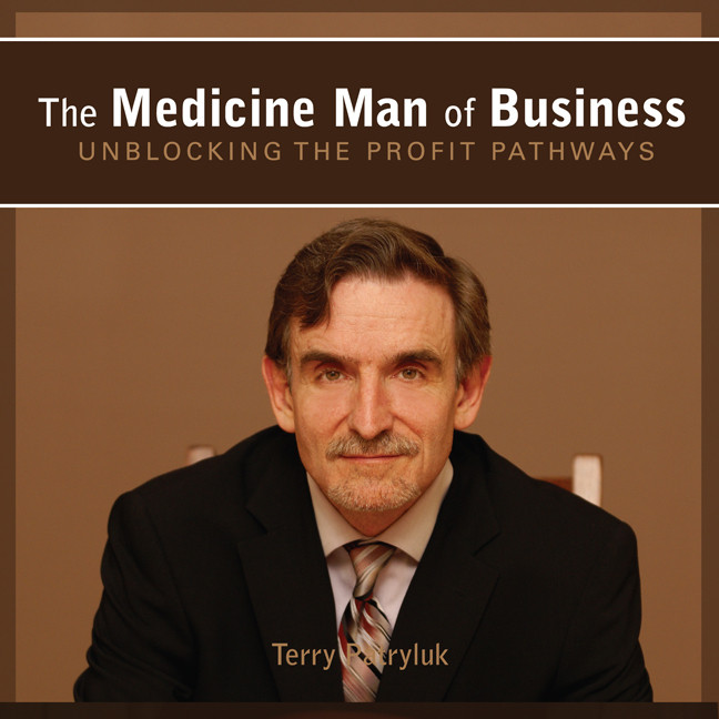 Printable The Medicine Man of Business: Unblocking the Profit Pathways Audiobook Cover Art