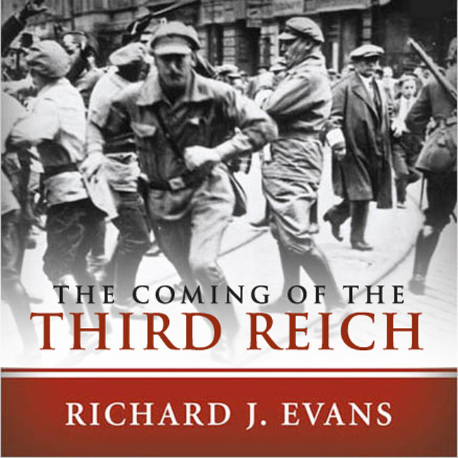 Printable The Coming of the Third Reich Audiobook Cover Art