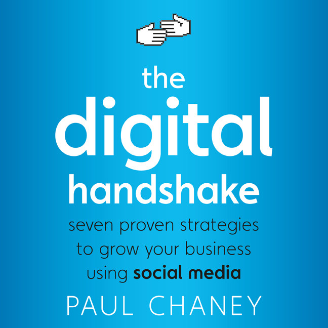 Printable The Digital Handshake: Seven Proven Strategies to Grow Your Business Using Social Media Audiobook Cover Art