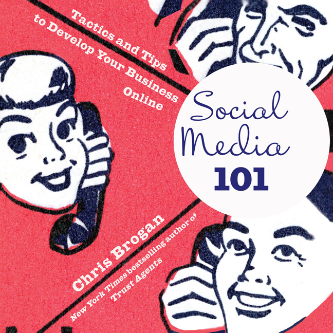 Printable Social Media 101: Tactics and Tips to Develop Your Business Online Audiobook Cover Art