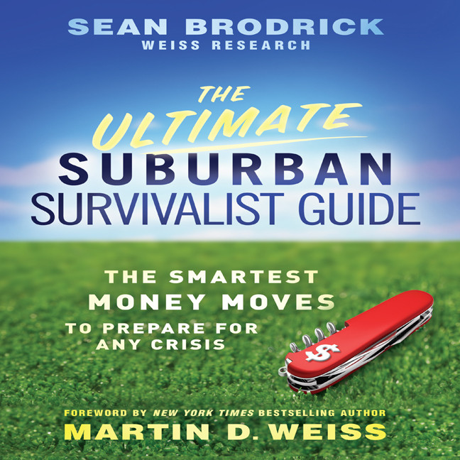 Printable The Ultimate Suburban Survivalist Guide: The Smartest Money Moves to Prepare for Any Crisis Audiobook Cover Art