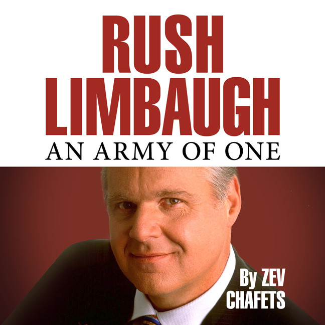 Printable Rush Limbaugh: An Army of One Audiobook Cover Art