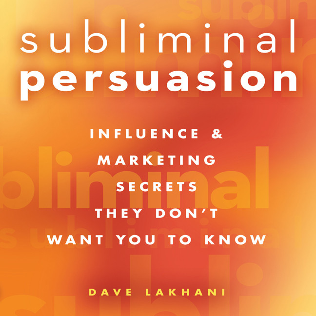 Printable Subliminal Persuasion: Influence & Marketing Secrets They Don't Want You To Know Audiobook Cover Art