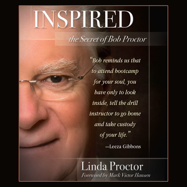 Printable Inspired: The Secrets of Bob Proctor Audiobook Cover Art