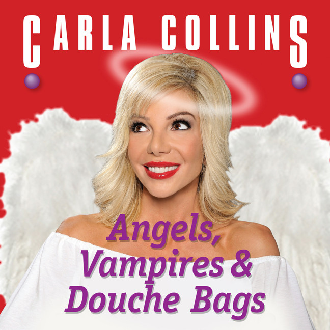 Printable Angels, Vampires and Douche Bags Audiobook Cover Art