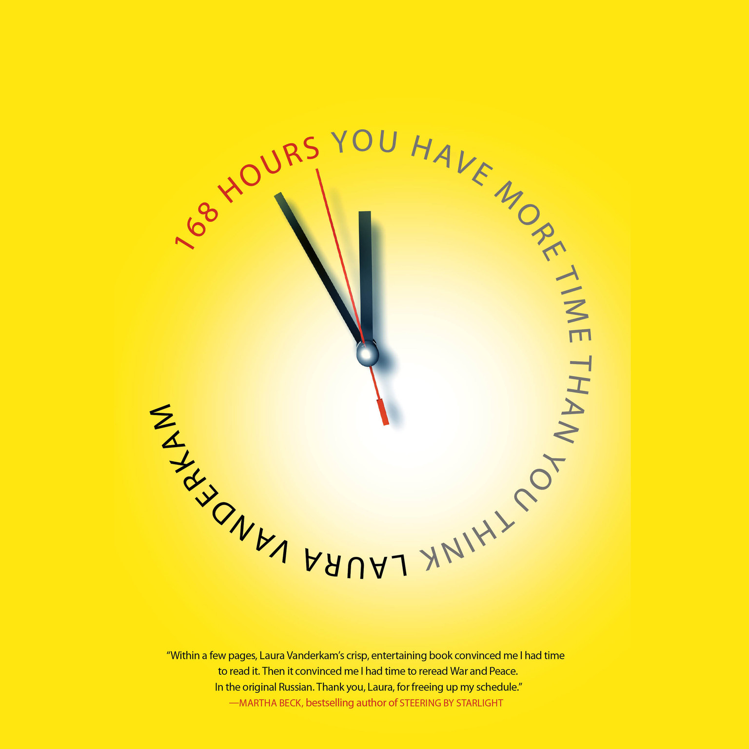 Printable 168 Hours: You Have More Time Than You Think Audiobook Cover Art