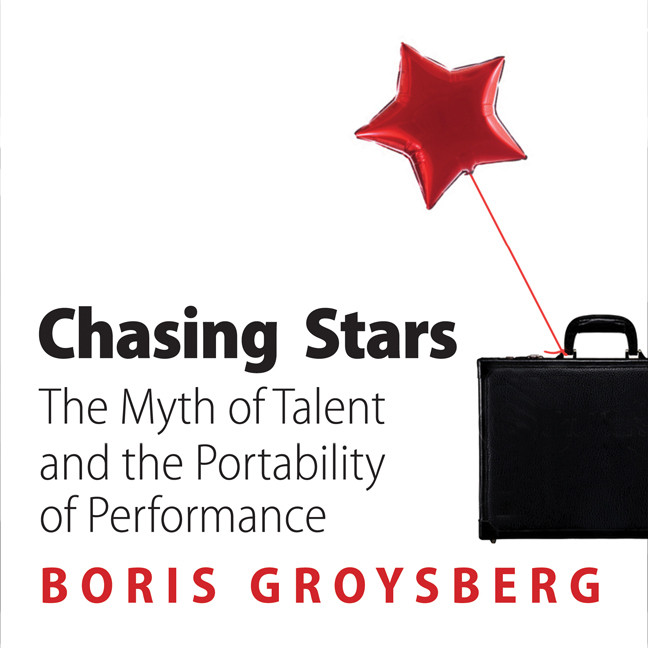 Printable Chasing Stars: The Myth of Talent and the Portability of Performance Audiobook Cover Art