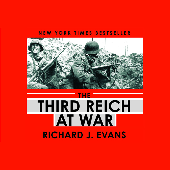 Printable The Third Reich at War Audiobook Cover Art