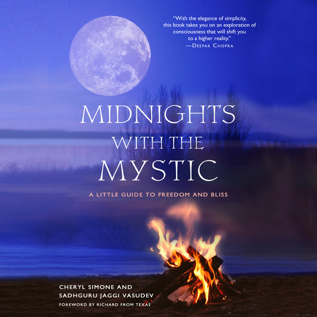 Printable Midnights with the Mystic: A Little Guide to Freedom and Bliss Audiobook Cover Art