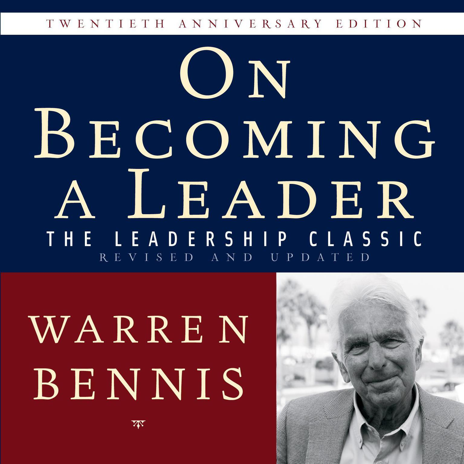 Printable On Becoming a Leader: The Leadership Classic Revised and Updated Audiobook Cover Art