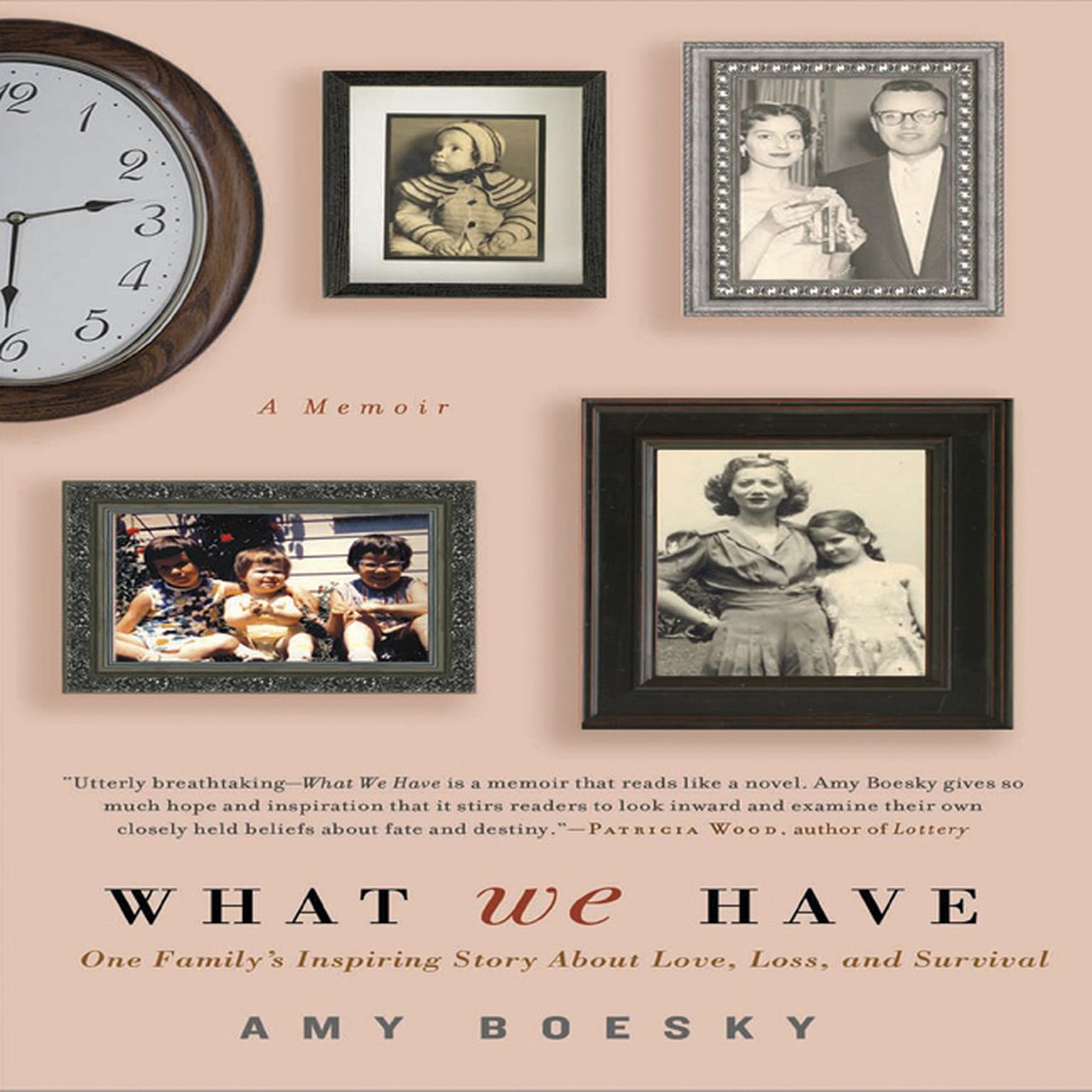 Printable What We Have: A Memoir Audiobook Cover Art