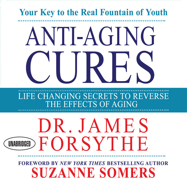 Printable Anti-Aging Cures: Life Changing Secrets To Reverse The Effects of Aging Audiobook Cover Art