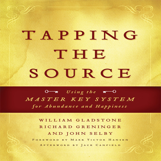 Printable Tapping the Source: Using the Master Key System for Abundance and Happiness Audiobook Cover Art
