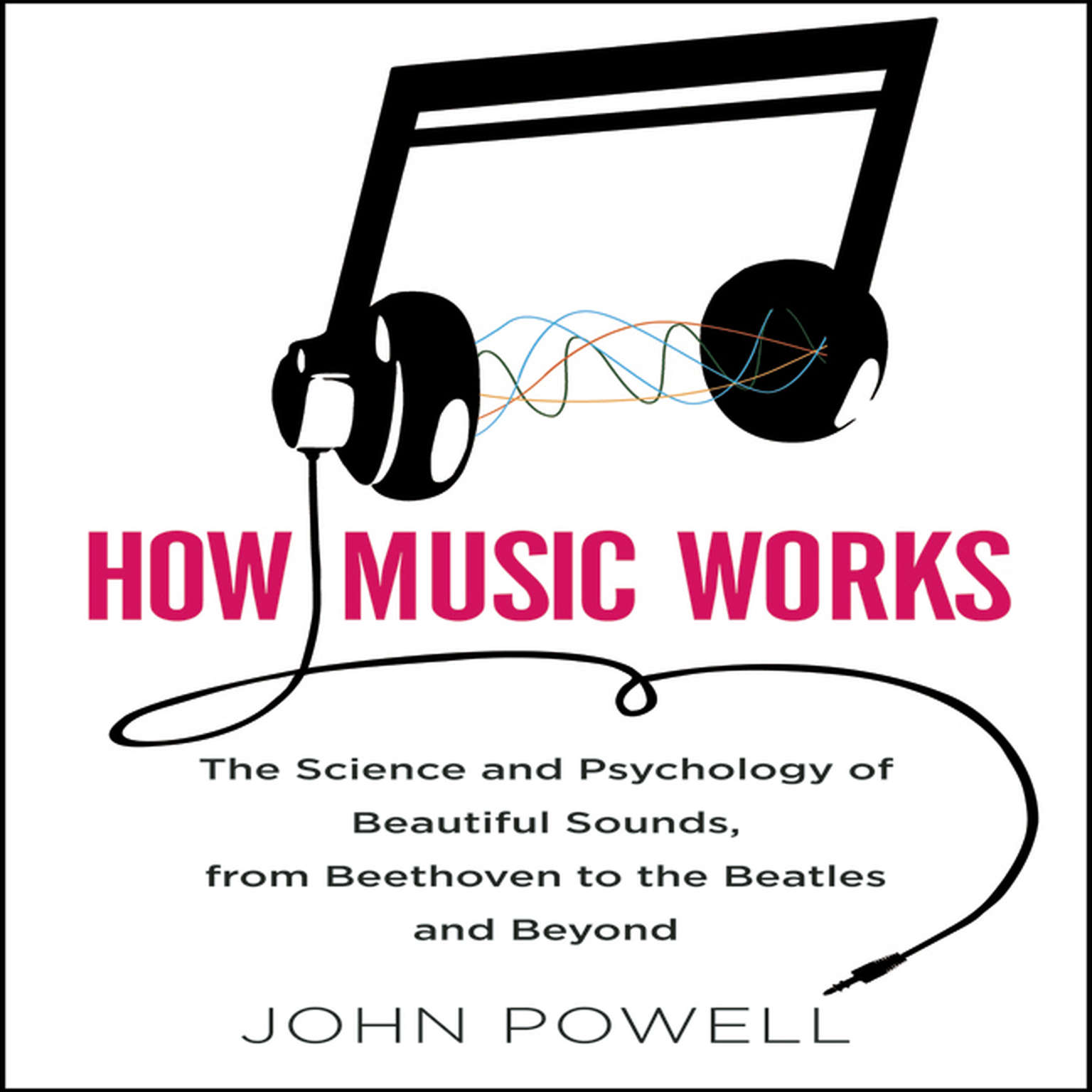 Printable How Music Works: The Science and Psychology of Beautiful Sounds, from Beethoven to the Beatles and Beyond Audiobook Cover Art