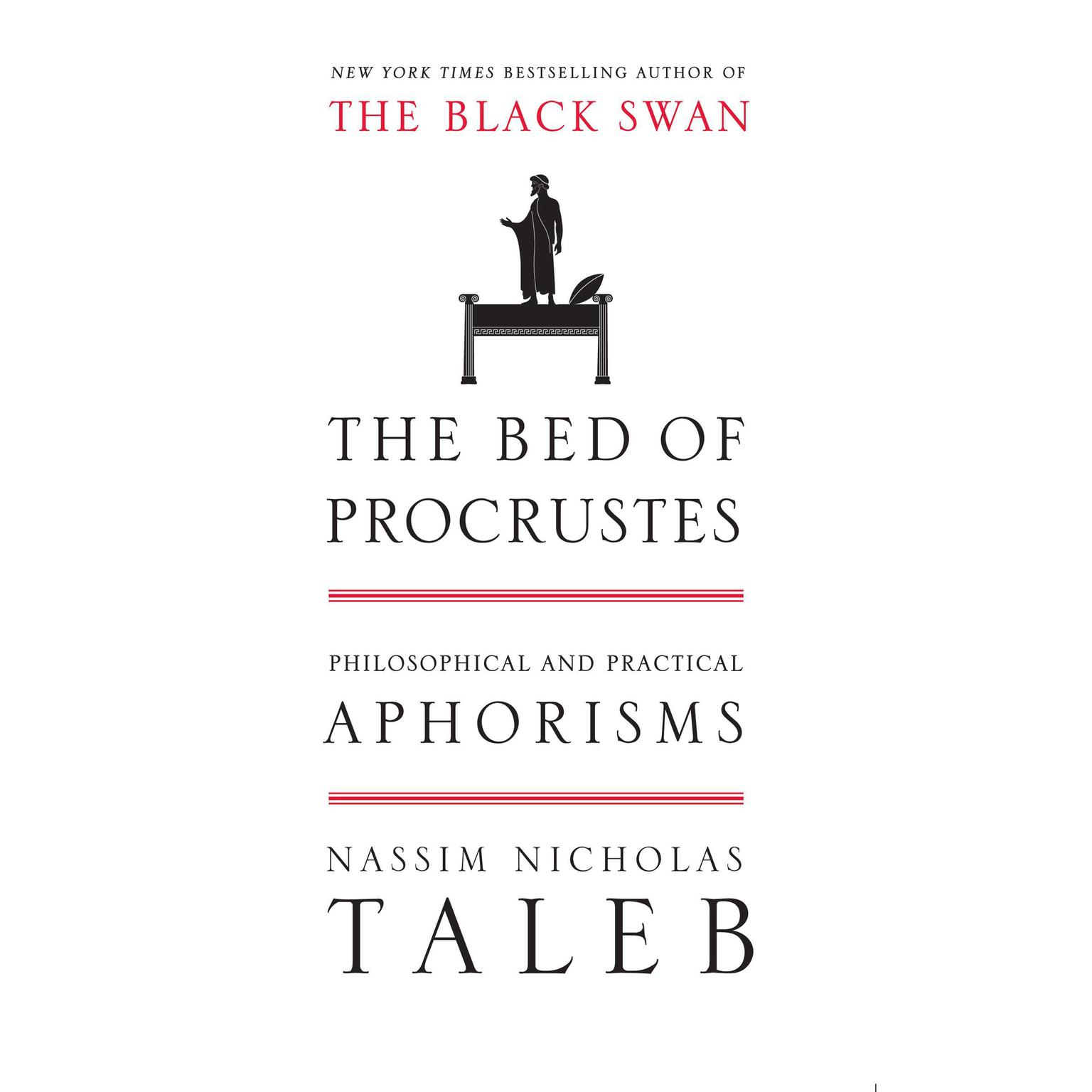 Printable The Bed of Procrustes: Philosophical and Practical Aphorisms Audiobook Cover Art