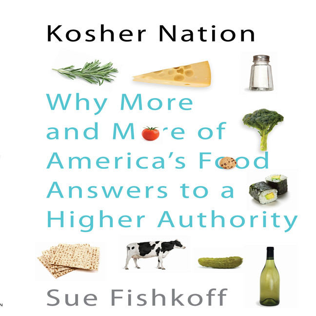 Printable Kosher Nation: Why More and More of America's Food Answers to a Higher Authority Audiobook Cover Art