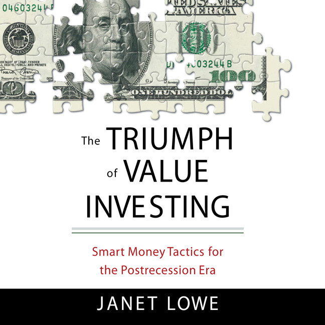 Printable The Triumph of Value Investing: Smart Money Tactics for the Postrecession Era Audiobook Cover Art