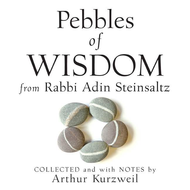 Printable Pebbles of Wisdom from Rabbi Adin Steinsaltz: Collected and with Notes by Arthur Kurzweil Audiobook Cover Art