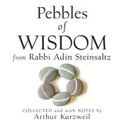Pebbles Wisdom from Rabbi Adin Steinsaltz: Collected and with Notes by Arthur Kurzweil Audiobook, by Adin Steinsaltz, Arthur Kurzweil
