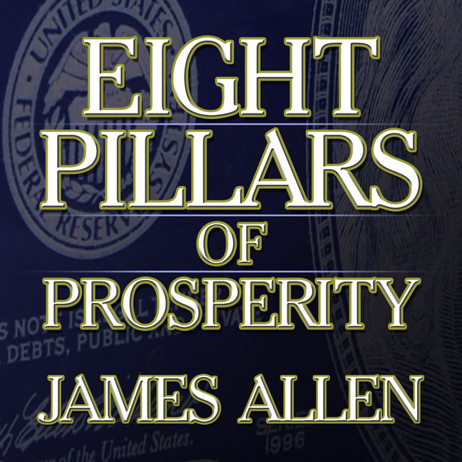 Printable Eight Pillars of Prosperity Audiobook Cover Art