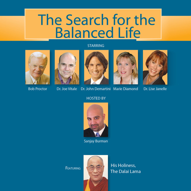 Printable The Search for the Balanced Life Audiobook Cover Art