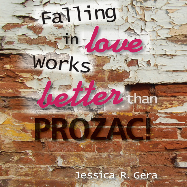 Printable Falling in Love Works Better than Prozac Audiobook Cover Art