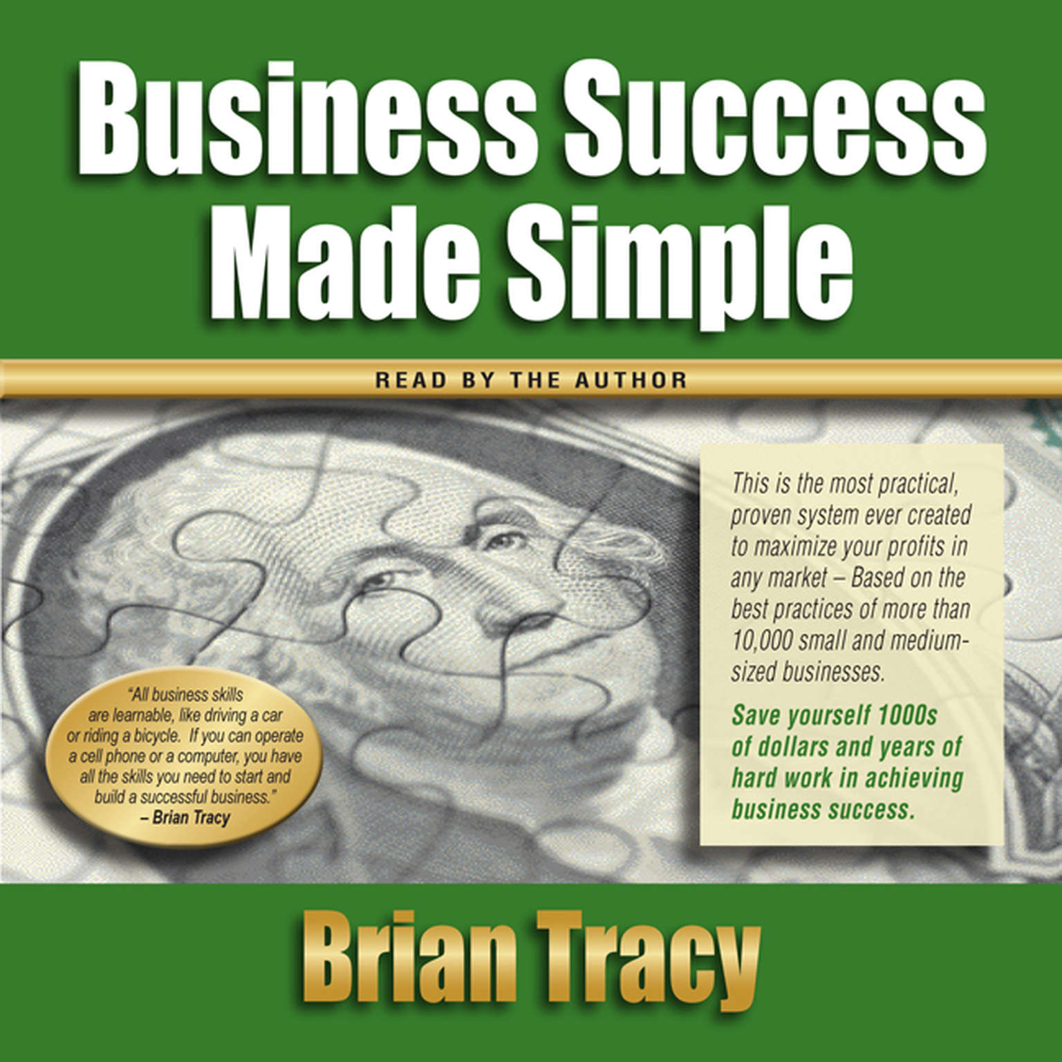 Printable Business Success Made Simple Audiobook Cover Art
