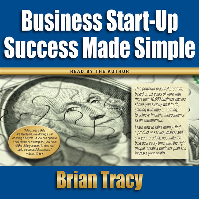 Printable Business Start-Up Success Made Simple Audiobook Cover Art