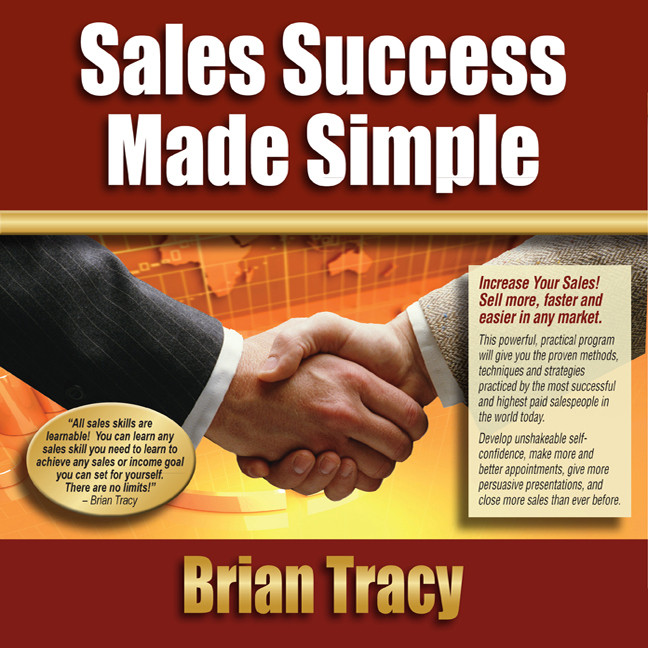 Printable Sales Success Made Simple Audiobook Cover Art