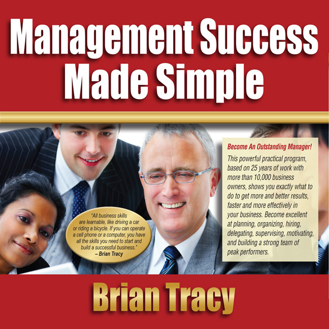 Printable Management Success Made Simple Audiobook Cover Art