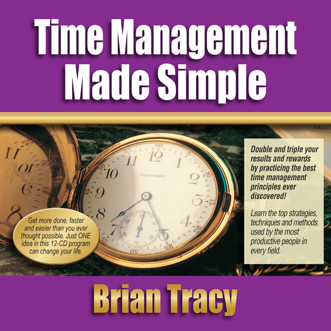 Printable Time Management Success Made Simple Audiobook Cover Art