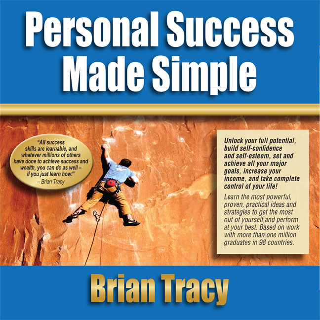 Printable Personal Success Made Simple Audiobook Cover Art