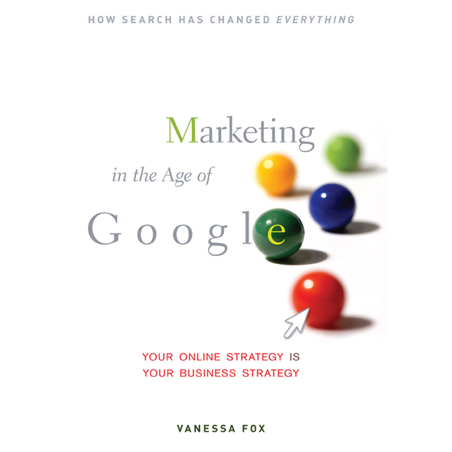 Printable Marketing in the Age Google: Your Online Strategy IS Your Business Strategy Audiobook Cover Art