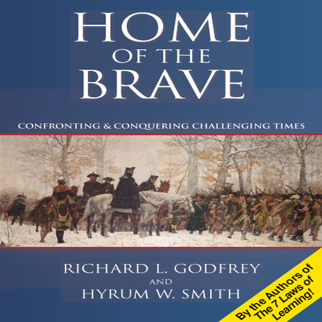 Printable Home the Brave: Confronting & Conquering Challenging Time Audiobook Cover Art