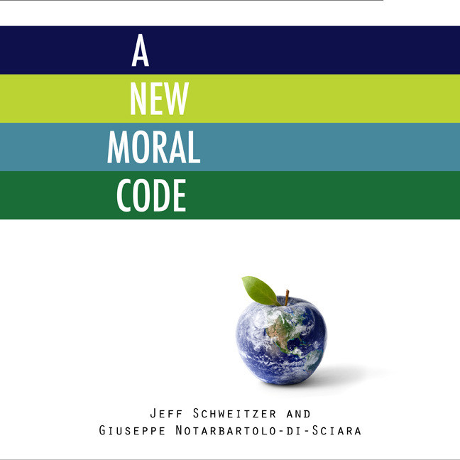 Printable A New Moral Code Audiobook Cover Art