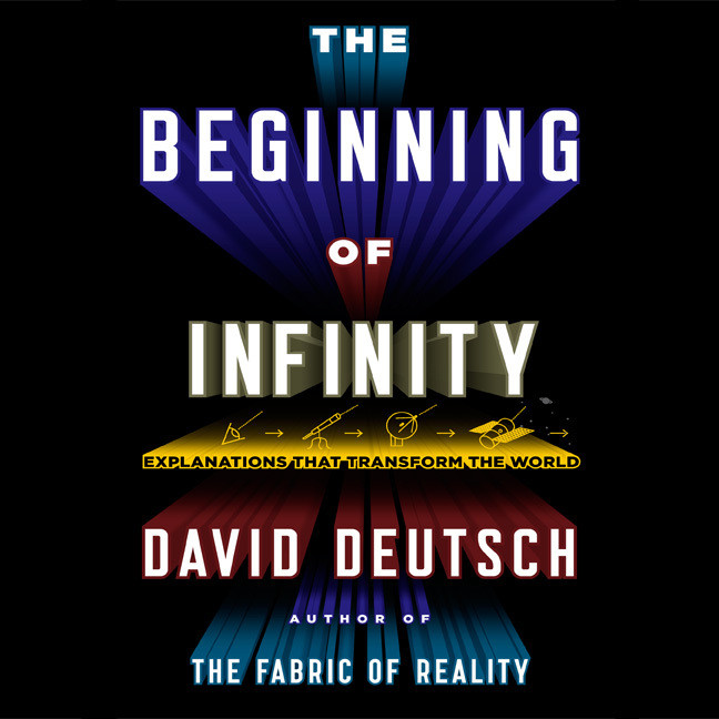 Printable The Beginning of Infinity: Explanations That Transform the World Audiobook Cover Art